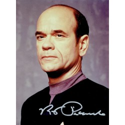 Robert Picardo original authentic genuine signed photo