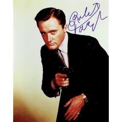 Robert Vaughn  original authentic genuine autograph signed photo
