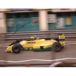 Roberto Moreno genuine original authentic signed autograph photo
