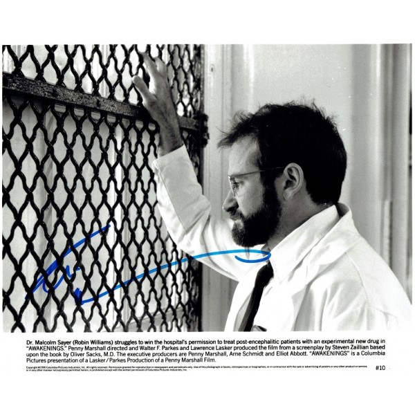 Robin Williams  original authentic genuine autograph signed photo