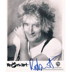 Rod Stewart original authentic genuine signed photo