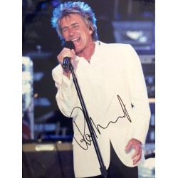 Rod Stewart signed authentic genuine signature