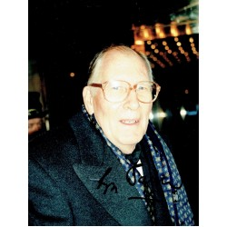 Roger Bannister - 4 Minute Mile signed authentic genuine signature