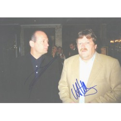 Ron Dennis & Haug  genuine signed original autograph photo