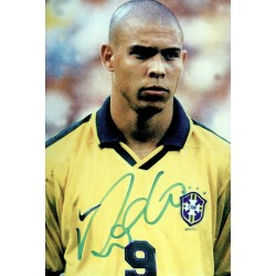 Ronaldo original authentic genuine signed photo