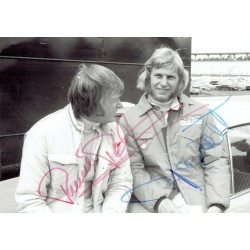 Ronnie Peterson genuine original authentic signed autograph photo