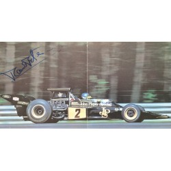 Ronnie Peterson  original authentic genuine autograph signed