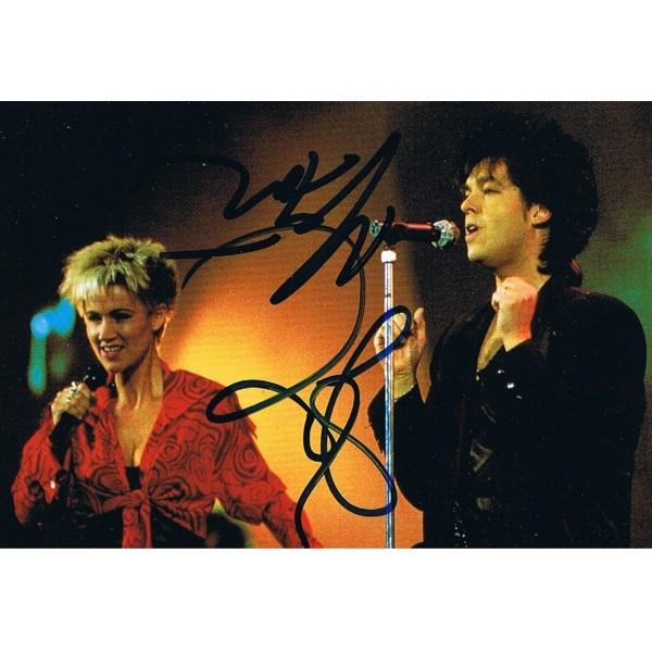 Roxette signed authentic genuine signature
