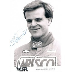 Rubens  Barrichello original authentic genuine signed photo