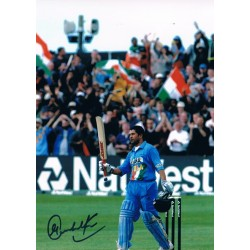 Sachin Tendulkar original authentic genuine signed photo