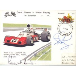 Schenken / Mansell / Head  original authentic genuine autograph signed