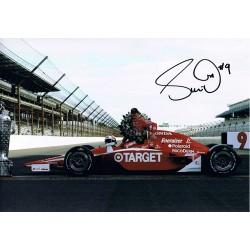 Scott Dixon indy car signed authentic genuine signature