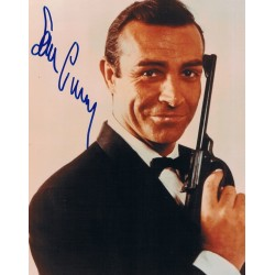 Sean Connery original authentic genuine signed photo
