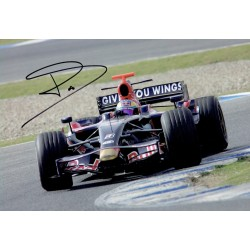 Sebastian Bourdais signed authentic genuine signature