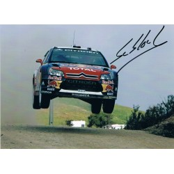 Sebastian Loeb original authentic genuine signed photo