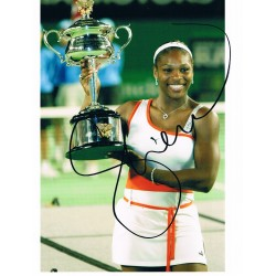 Serena  Williams original authentic genuine signed photo