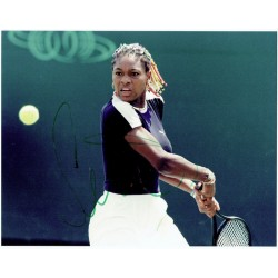 Serena Williams signed authentic genuine signature
