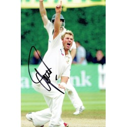 Shane Warne signed authentic genuine signature