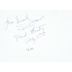 Sid James  authentic genuine autograph signed