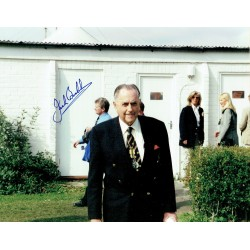 Sir Jack Brabham genuine original authentic signed autograph photo