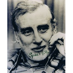 Spike Milligan signed authentic genuine signature
