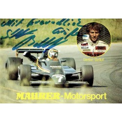 Stefan Bellof original authentic genuine signed autograph photo