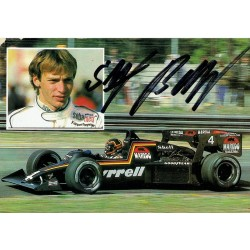 Stefan Bellof original authentic genuine signed photo