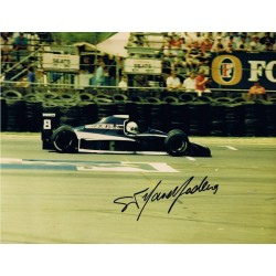 Stefano Modena signed authentic genuine signature