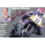Steve Hislop original authentic genuine signed photo