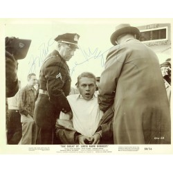 Steve McQueen  signed autograph signatures photo