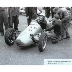 Stirling Moss genuine original authentic signed autograph