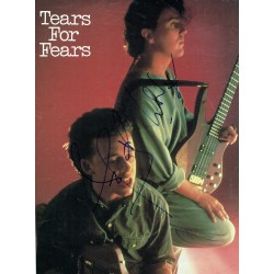 Tears for Fears genuine original authentic signed autograph