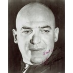 Telly Savalas authentic genuine autograph signed photo