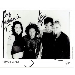 The Spice Girls  original authentic genuine autograph signed photo