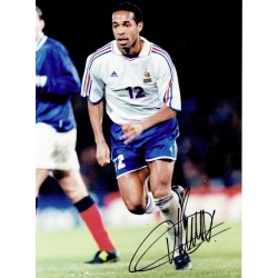 Thierry Henry original authentic genuine signed photo