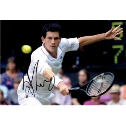 Tim  Henman original authentic genuine signed photo