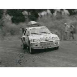 Timo Salonen and Seppe Harjanne original authentic genuine signed autograph photo