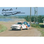 Timo  Salonen original authentic genuine signed photo
