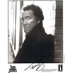 Tom Jones signed authentic genuine signature COA