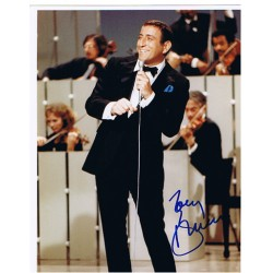 Tony Bennett  original authentic genuine autograph signed photo
