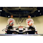 Toyota F1 2008 signed authentic genuine signature