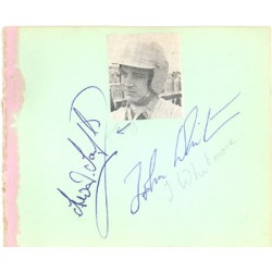 Trevor Taylor / Sir John Whitmore genuine original authentic signed autograph