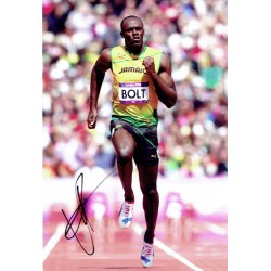 Usain Bolt original authentic genuine signed photo