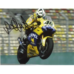 Valentino Rossi genuine original authentic signed autograph photo