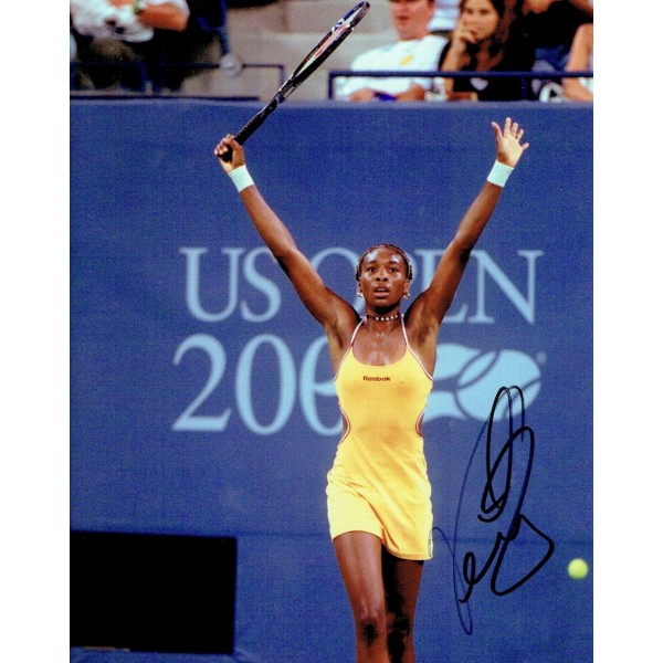 Venus Williams genuine original authentic signed autograph photo