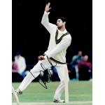 Wasim Akram original authentic genuine signed photo