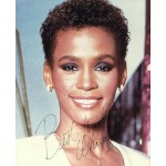 Whitney Houston genuine authentic signed autograph signatures