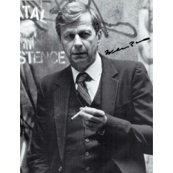 William B Davis  original authentic genuine autograph signed photo