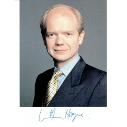 William Hague  original authentic genuine autograph signed photo