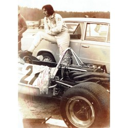 Wilson Fittipaldi genuine original authentic signed autograph photo